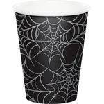 Spider Web Paper Cups, 225ml