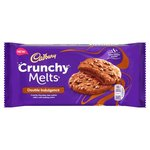 Cadbury Crunchy Melts Double Chocolate Filled Cookie