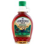 St Lawrence Gold Organic Maple Syrup Amber