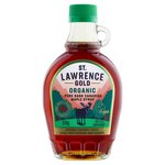 St Lawrence Gold Organic Maple Syrup Dark
