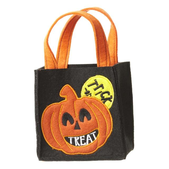 Halloween Pumpkin Bag | Halloween Pumpkin Bag 13 X 13cm From Ocado