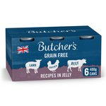 Butcher's Recipes in Jelly Dog Food Tins