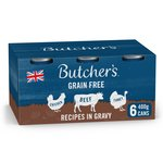 Butcher's Recipes in Gravy Dog Food Tins