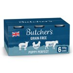 Butcher's Puppy Perfect Dog Food Tins