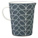 Orla Kiely Enamel Large Measuring Jug Linear Stem Slate