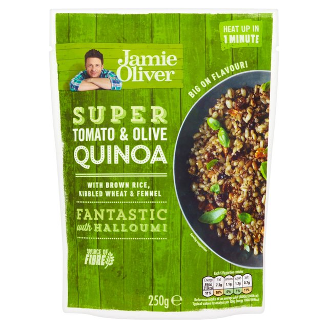 Quinoa With Tomato And Olive Jamie Oliver Ready To Eat Ocado