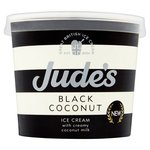 Jude's Black Coconut Ice Cream