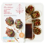 Waitrose Party Food 12 Sticky Beef Teriyaki Bon Bons