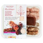 Waitrose 18 Cocktail Sausage Selection with an Orange & Juniper Glaze