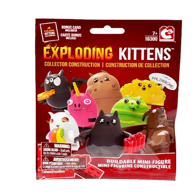 Exploding Kittens - Collectable Mini Figures 7+