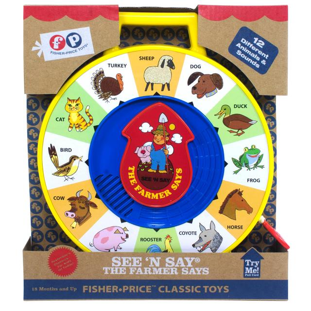 d9d50c8a39dc0 Fisher Price Classic - See  n Say Farmer Says 18 months+ from Ocado