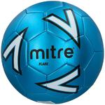 Mitre Flare Football, Blue/White, Size 5