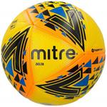 Mitre Delta Hyperseam Fifa Pro Football, Yellow/Black/Blue, Size 5