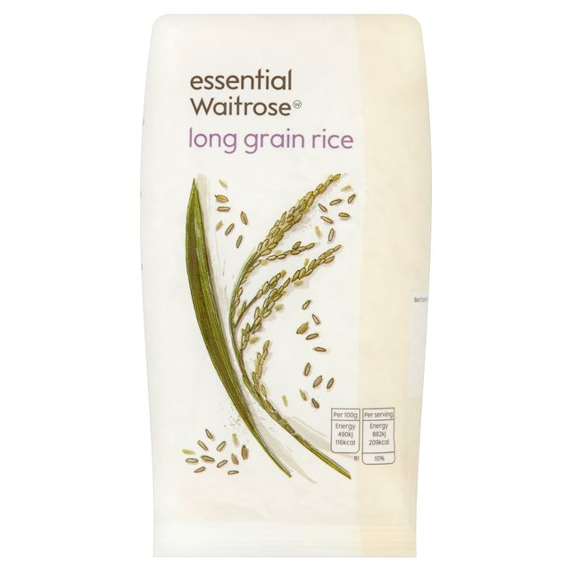 Essential Waitrose Rice Long Grain