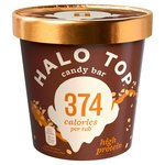 Halo Top Candy Bar Low Calorie Ice Cream