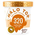 Halo Top Non-Dairy Sea Salt Caramel Low Calorie Ice Cream