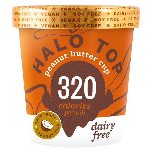 Halo Top Non-Dairy Peanut Butter Cup Low Calorie Ice Cream