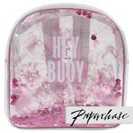 Paperchase Mermaid Squad Hey Buoy Clear Backpack