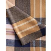 Joules Knitted Scarf, Camel check