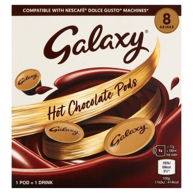 Galaxy Dolce Gusto Compatible Pods Ocado
