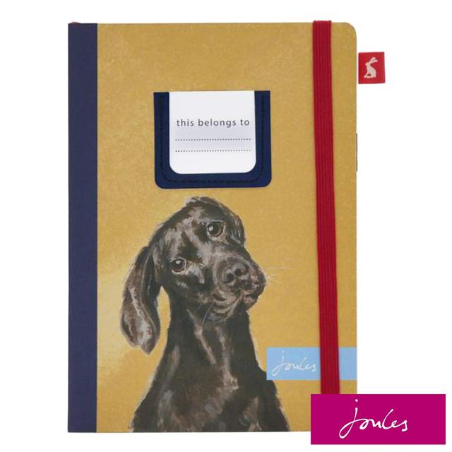 Joules Pawcasso Chocolate Labrador A5 Notebook