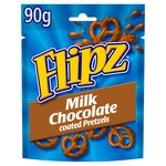 Flipz Milk Chocolate Covered Pretzels Pouch