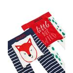 Joules Fox Leggings 2 Pack, 0-6 Months