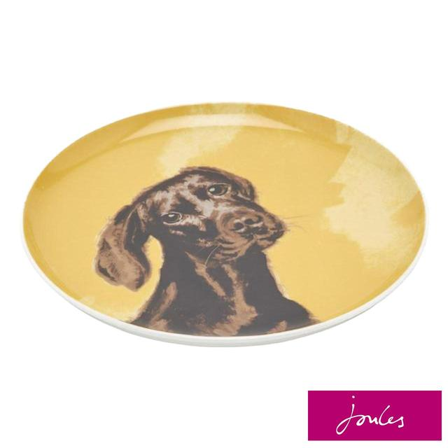 Joules Chocolate Labrador Tea Plate