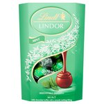 Lindt Lindor Milk Mint Chocolate Truffles