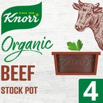 Knorr Organic Beef Stock Pot