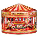 Churchill's Carousel Tin with Shortbread Petticoat Tails