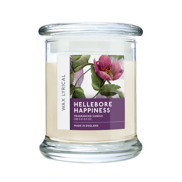 Wax Lyrical Hellebore Happiness Candle Jar