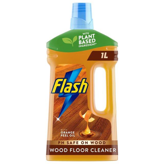 Flash Liquid Cleaner Wooden Floor 1L From Ocado