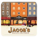 Jacob's The Baker Brothers Biscuits for Cheese Heritage Tin