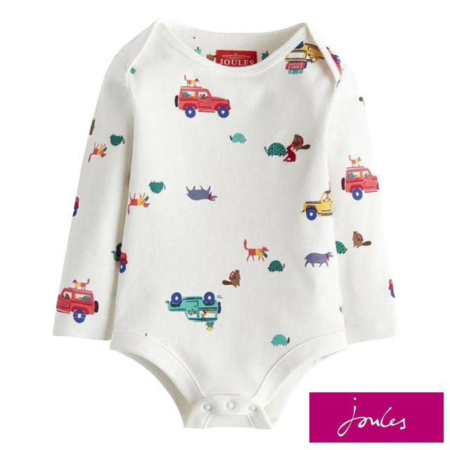 Joules Cream Scout & About Bodysuit