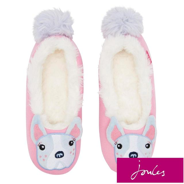 4a0eca079ff4d Joules Kids' Bull Dog Slippers from Ocado