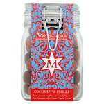 Montezuma's Dark with Chilli & Milk with Coconut Chocolate Truffle Jar