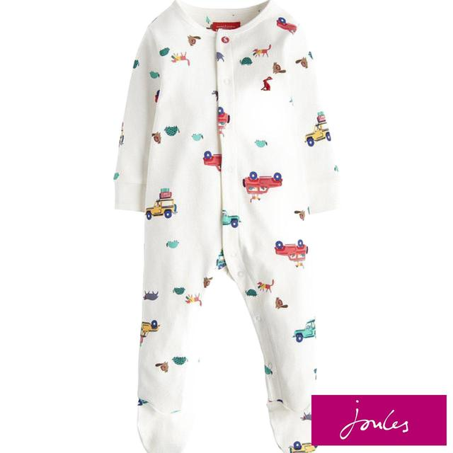 Joules Cream Scout & About Sleepsuit
