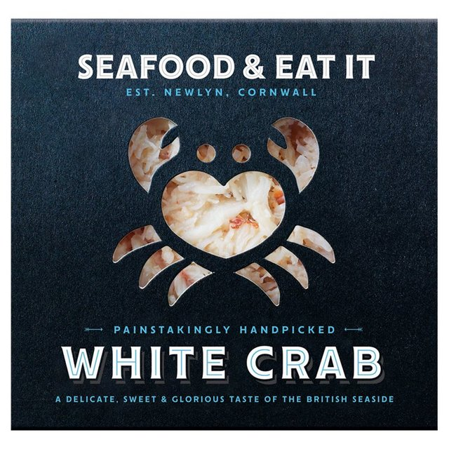 Seafood & Eat It White Cornish Crab