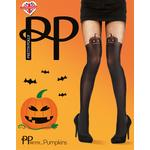 Pretty Polly Pumpkin Tights, One size