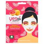 Yes To Grapefruit Paper Mask Single Pack