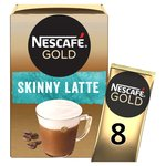 Nescafe Gold Skinny Latte Coffee 8 Sachets