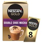 Nescafe Gold Double Choca Mocha Coffee 8 Sachets