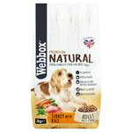 Webbox Natural Dog Dry Turkey