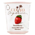 COYO Dairy Free Coconut Milk Yoghurt Alternative Strawberry