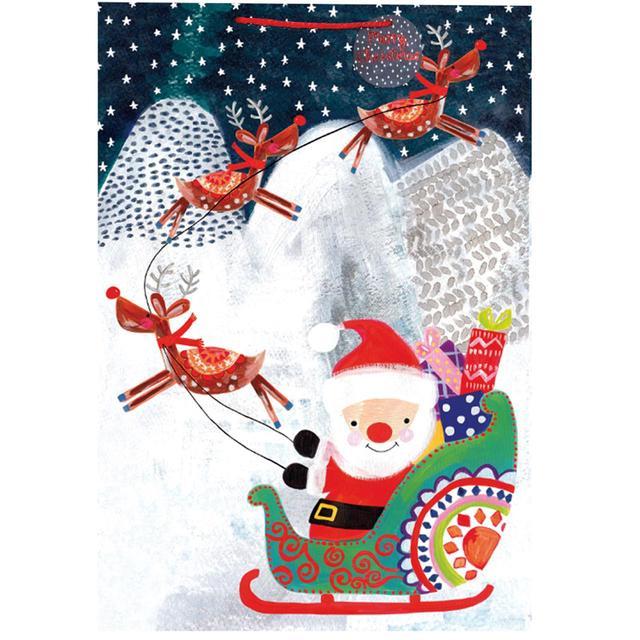 Father Christmas Gift Bag, Jumbo from Ocado