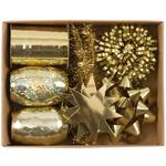 Gold Gift Wrap Accessory Box