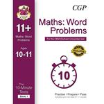 CGP 10-Minute Tests for 11+ Maths, Word Problems