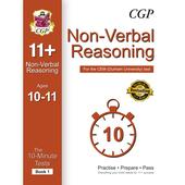 CGP 10-Minute Tests for 11+ Non-Verbal Reasoning