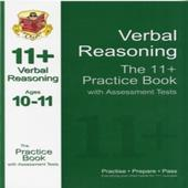 CGP 11+ Verbal Reasoning Practice Book & Assessment Tests